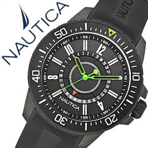 【5年保証対象】ノーティカ腕時計 NAUTICA時計 NAUTICA 腕時計 ノーティカ 時計 デイト スポーツ アクティブ NST15 SPORT ACTIVE メンズ ブラック グリーン A15640G アナログ おしゃれ 通販 アメリカン ブランド プレゼント ギフト 祝い 送料無料