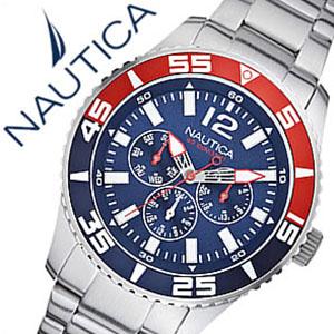 【5年保証対象】ノーティカ腕時計 NAUTICA時計 NAUTICA 腕時計 ノーティカ 時計 マルチ スポーツ アクティブ NST700 SPORT ACTIVE メンズ ネイビー ホワイト A15653G アナログ シルバー おしゃれ 通販 アメリカン ブランド 送料無料