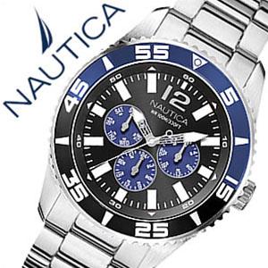 【12,144円引き】【5年保証対象】ノーティカ腕時計 NAUTICA時計 NAUTICA 腕時計 ノーティカ 時計 マルチ スポーツ アクティブ NST700 SPORT ACTIVE メンズ ブラック ホワイト ネイビー A15654G アナログ シルバー おしゃれ 通販 アメリカン ブランド 父の日 ギフト