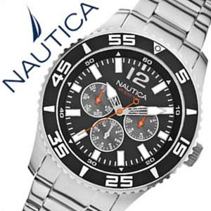 【5年保証対象】ノーティカ腕時計 NAUTICA時計 NAUTICA 腕時計 ノーティカ 時計 マルチ スポーツ アクティブ NST700 SPORT ACTIVE メンズ ブラック ホワイト A15656G アナログ シルバー おしゃれ 通販 アメリカン ブランド 送料無料