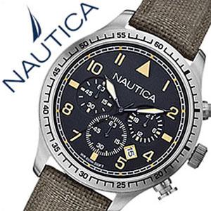 [当日出荷] 【5年保証対象】ノーティカ腕時計 NAUTICA時計 NAUTICA 腕時計 ノーティカ 時計 クロノ クラシック スポーティ カジュアル BFD105 CLASSIC SPORTY CASUAL メンズ ブラック A16579G アナログ オリーブ おしゃれ 通販 アメリカン ブランド 送料無料