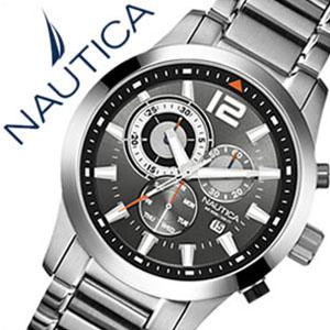 【5年保証対象】ノーティカ腕時計 NAUTICA時計 NAUTICA 腕時計 ノーティカ 時計 クラシック スポーティ ドレス NCS600 CLASSIC SPORTY DRESS メンズ ブラック ホワイト A17547G アナログ シルバー おしゃれ 通販 アメリカン ブランド 送料無料