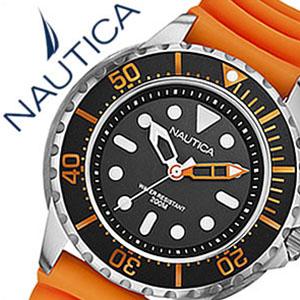 【5年保証対象】ノーティカ腕時計 NAUTICA時計 NAUTICA 腕時計 ノーティカ 時計 スポーツ シー オブ カラー NMX650 SPORT SEA OF COLOR メンズ ブラック ホワイト オレンジ A18633G アナログ おしゃれ 通販 アメリカン ブランド 父の日 ギフト