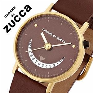 カバンドズッカ 時計[CABANEdeZUCCA 腕時計]カバンドズッカ腕時計 カバン ド ズッカ 時計 CABANE de ZUCCA 腕時計 [ズッカ zucca] ズッカ腕時計 zucca時計 スマイル2 SMILE2 メンズ レディース ブラウン AJGJ013 [フェイス ゴールド][バーゲン プレゼント ギフト]