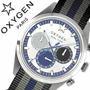 [当日出荷] オキシゲン腕時計 OXYGEN時計 OXYGEN 腕時計 オキシゲン 時計 スポーツ ディーティー パシフィック マルチファンクション Sport DT Pacific 40 メンズ ホワイト ネイビー ブラック PAC-40-BLGRNA アナログ おしゃれ シルバー 白 黒 灰 紺 グレー 6針 送料無料