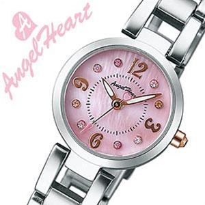 エンジェルハート腕時計 AngelHeart時計 Angel Heart 腕時計 エンジェル ハート 時計 ラブタイム LOVE TIME レディース ピンクパール LV23PMA スワロフスキー [かわいい ギフト バーゲン プレゼント ご褒美][おしゃれ 腕時計]