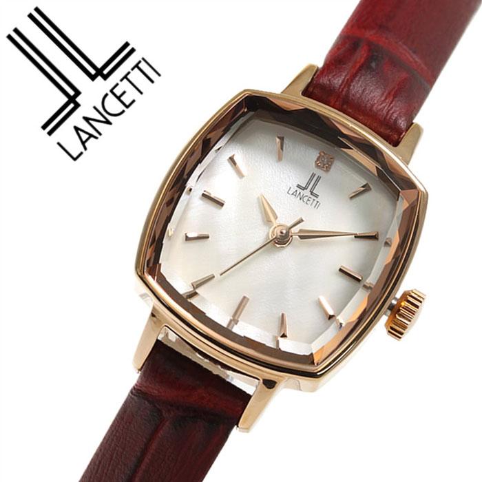 0cf082ded6 ランチェッティ 腕時計. LANCETTI 時計. LT-6208R-WHRE レディース