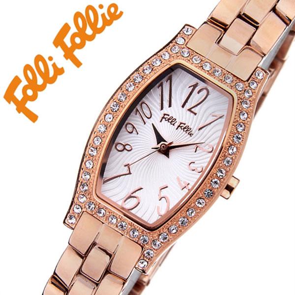 フォリフォリ腕時計[FolliFollie](FolliFollie 腕時計 フォリフォリ 時計 フォリフォリ時計) レディース時計 WF8B026BPS[ギフト バーゲン プレゼント ご褒美][おしゃれ 腕時計]