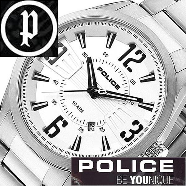 【11,550円引き】 ポリス 腕時計 POLICE 腕時計 ポリス 時計 POLICE 時計 ポリス腕時計 POLICE腕時計 ポリス時計 POLICE時計 メンフィス MEMPHIS メンズ シルバー 13893JS-04M メタルベルト ブラック 銀 黒 正規品 人気 新作