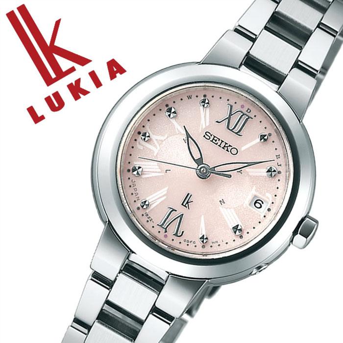 fbd7826ca7 セイコー ルキア SEIKO LUKIA 時計 セイコールキア 腕時計 SEIKOLUKIA ルキア時計 ルキア腕時計 レディース 人気 ピンク  SSVW067 アナログ ソーラー電波修正 シルバー ...