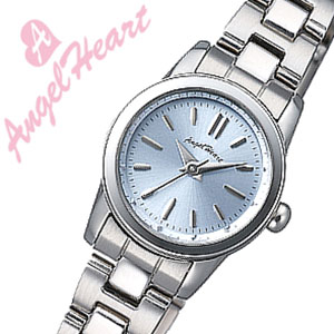【5年保証対象】エンジェルハート 時計 AngelHeart 時計 エンジェル ハート 腕時計 Angel Heart 腕時計 AngelHeart時計 レディース ライトブルー WTR19SBU ブルー シルバー 銀 青 水色 3針 送料無料 プレゼント ギフト 祝い