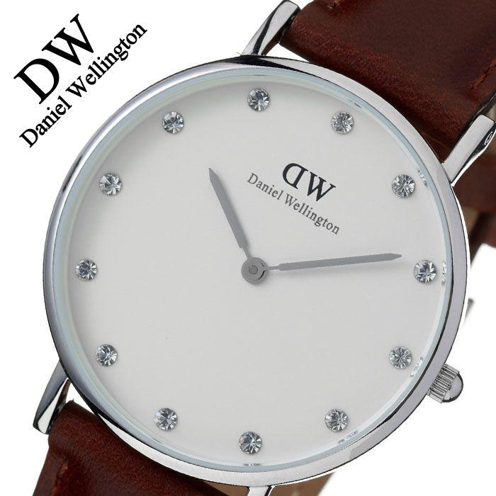 [当日出荷] 【5年保証対象】ダニエルウェリントン 腕時計 DanielWellington 時計 ダニエル ウェリントン 時計 Daniel Wellington 腕時計 クラシック セントアンドルーズ シルバー CLASSIC 34 メンズ レディース 0960DW フォーマル 送料無料