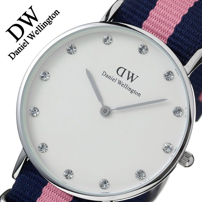 【5年保証対象】ダニエルウェリントン 腕時計 DanielWellington 時計 ダニエル ウェリントン 時計 Daniel Wellington 腕時計 クラシック ウィンチェスター シルバー CLASSIC 34mm メンズ レディース 0962DW フォーマル 送料無料