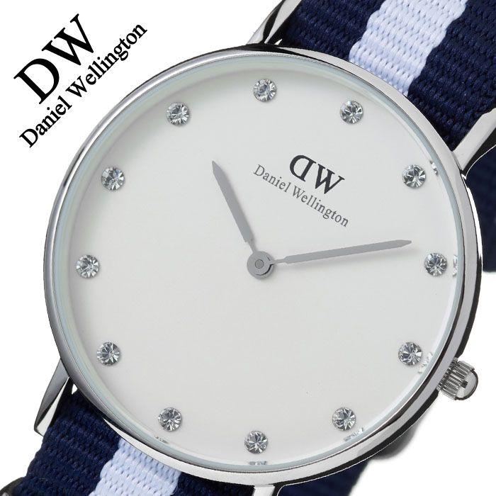 ダニエルウェリントン 腕時計 DanielWellington 時計 ダニエル ウェリントン 時計 Daniel Wellington 腕時計 クラシック グラスゴー シルバー CLASSIC 34mm 0963DW [北欧 人気][バーゲン プレゼント ギフト][おしゃれ 腕時計]