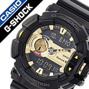 "400-1 A9JF GBA-02P01Oct16 Casio ""[CASIO and g-shock' G-shock [SHOCK/GSHOCK G]"" / ""watch [watches gshock] Simic G'MIX men's / Gold [an analog-digital / digital / LCD / water resistant / black / grey]"