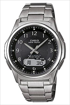 カシオ腕時計 CASIO時計 CASIO 腕時計 カシオ 時計 ウェーブセプター wave ceptor メンズ ブラック WVA-M630TDE-1AJF アナデジ デジタル タフ ソーラー 電波 時計 液晶 防水 シルバー グレー チタン  入学 卒業 祝い