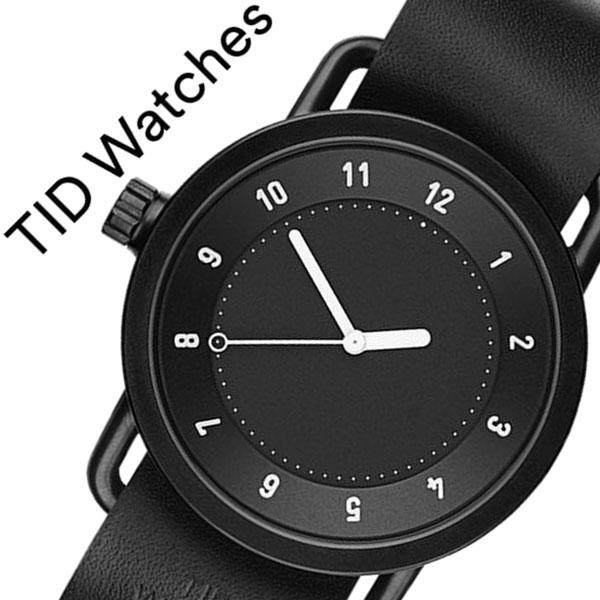 【5年保証対象】 ティッドウォッチズ ティッドウォッチ 腕時計 TIDWatches 時計 ティッド ウォッチ 時計 TID Watches 腕時計 TIDNo. 1 メンズ レディース TID01-BK-BK 新作 ブランド 人気 革ベルト おしゃれ 防水 替え 北欧 アナログ インスタ 通販 送料無料