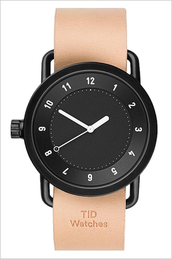 [ティッドウォッチズ]ティッドウォッチ 腕時計[TIDWatches 時計]ティッド ウォッチ 時計[TID Watches 腕時計] TIDNo. 1 TID01-BK-N [新作 ブランド 人気 革ベルト おしゃれ 防水 北欧 ベージュ ブラウン インスタ 通販][プレゼント ギフト]