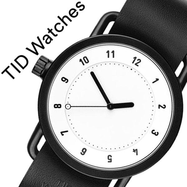 【5年保証対象】 ティッドウォッチズ ティッドウォッチ 腕時計 TIDWatches 時計 ティッド ウォッチ 時計 TID Watches 腕時計 TIDNo. 1 メンズ レディース TID01-WH-BK 新作 ブランド 人気 革ベルト おしゃれ 防水 替え 北欧 アナログ インスタ 通販 送料無料