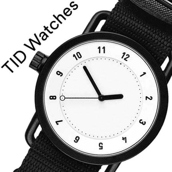 [ティッドウォッチズ]ティッドウォッチ 腕時計[TIDWatches 時計]ティッド ウォッチ 時計[TID Watches 腕時計] TIDNo. 1 TID01-WH-NBK [人気 新作 ブランド NATO ベルト おしゃれ 防水 替え 北欧 ナトー インスタ 通販][プレゼント ギフト]