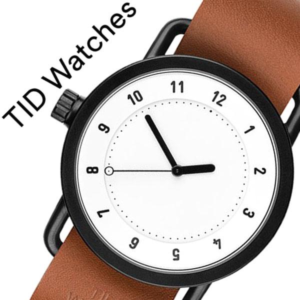 【5年保証対象】 ティッドウォッチズ ティッドウォッチ 腕時計 TIDWatches 時計 ティッド ウォッチ 時計 TID Watches 腕時計 TIDNo. 1 メンズ レディース TID01-WH-T 新作 ブランド 人気 革ベルト おしゃれ 防水 北欧 アナログ ブラウン インスタ 通販 送料無料