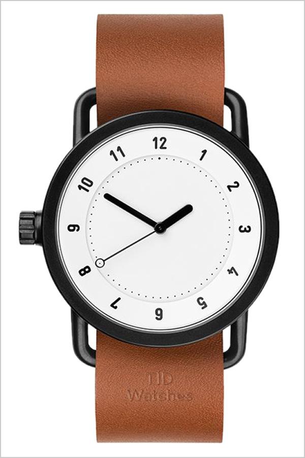 【5年保証対象】 ティッドウォッチズ ティッドウォッチ 腕時計 TIDWatches 時計 ティッド ウォッチ 時計 TID Watches 腕時計 TIDNo. 1 メンズ レディース TID01-WH-T 新作 ブランド 人気 革ベルト おしゃれ 防水 北欧 アナログ ブラウン インスタ 通販