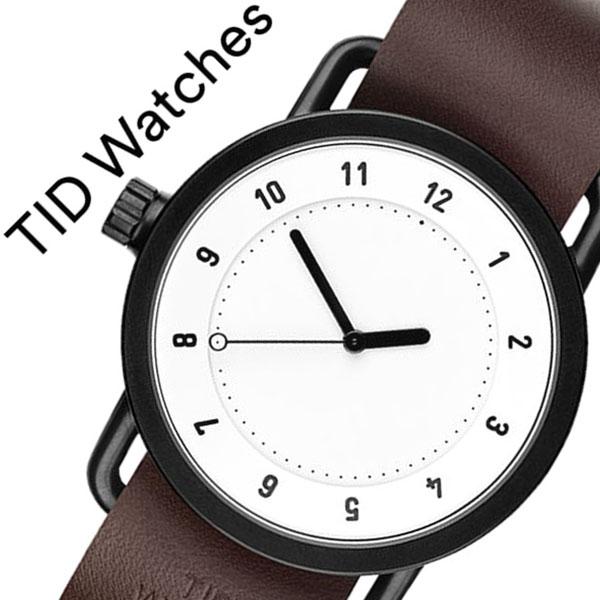 【5年保証対象】 ティッドウォッチズ ティッドウォッチ 腕時計 TIDWatches 時計 ティッド ウォッチ 時計 TID Watches 腕時計 TIDNo. 1 メンズ レディース TID01-WH-W 新作 ブランド 人気 革ベルト おしゃれ 防水 替え 北欧 ブラウン インスタ モデル 通販 送料無料