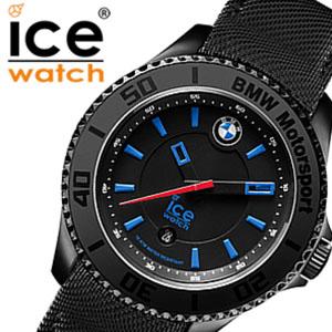 アイスウォッチ 時計[ICEWATCH 腕時計]アイス ウォッチ[ice watch 腕時計]アイス 腕時計 ビーエムダブリュー モータースポーツ スチール BMW Motorsport Steel Unisex ブラック BMKLBUL [レザー ベルト 防水 ブルー][バーゲン プレゼント ギフト][おしゃれ 腕時計]