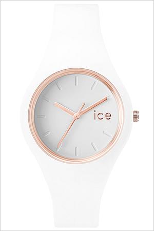アイスウォッチ 時計[ICEWATCH 腕時計]アイス ウォッチ[ice watch 腕時計]アイス 腕時計[ice]アイス腕時計 ice腕時計 グラム スモール Glam Small レディース ホワイト ICEGLWRGSS [シリコン ベルト 防水 ローズ ゴールド][バーゲン プレゼント ギフト][おしゃれ 腕時計]