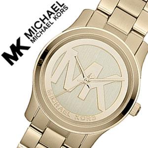 マイケルコース 時計 michaelkors 腕時計 マイケル コース 時計 michael kors マイケルコース 腕時計 MICHAEL KORS マイケルコース腕時計 ランウェイ アイコン Runway Icon レディース MK5786 ブランド ゴールド ブラウン ホワイト シンプル 送料無料