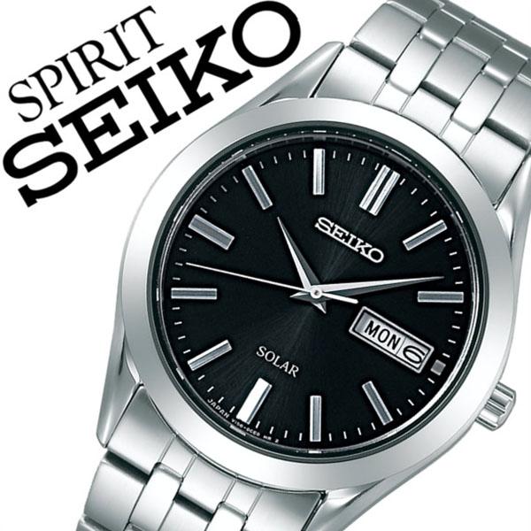 名入れ ラッピング 対応可能 日本時計輸入協会が定めたウォッチコーディネーター在籍店 各種 プレゼント ギフト 承ります 成人式 社会人 就活 20代 30代 40代 50代 60代 当日出荷 5年保証対象 セイコー腕時計 SEIKO時計 ペア お値打ち価格で 送料無料 モデル SPIRIT ソーラー スピリット ベルト メタル SBPX083 メンズ 日本 シルバー ブラック セイコー 正規品 腕時計 シンプル SEIKO 防水 時計
