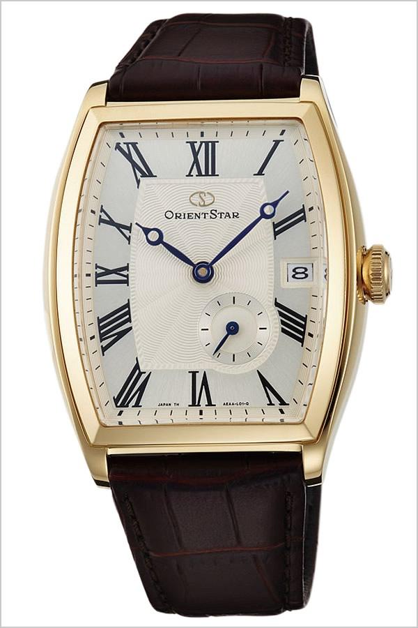 【5年保証対象】オリエント腕時計 ORIENT時計 ORIENT 腕時計 オリエント 時計 オリエントスター ORIENTSTAR メンズ シルバー WZ0011AE 革 ベルト 機械式 自動巻 メカニカル 正規品 ブラウン ゴールド F6442 オリエント スター