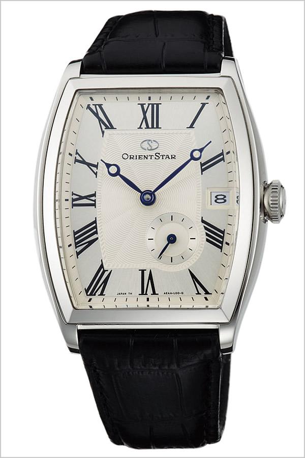 【5年保証対象】オリエント腕時計 ORIENT時計 ORIENT 腕時計 オリエント 時計 オリエントスター ORIENTSTAR メンズ シルバー WZ0021AE 革 ベルト 機械式 自動巻 メカニカル 正規品 ブラック シルバー F6442 オリエント スター