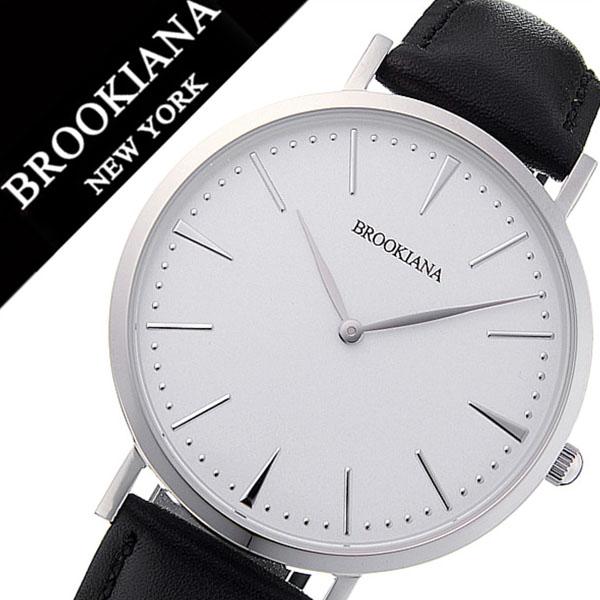 e6f1b4fce9 ブルッキアーナ腕時計 BROOKIANA時計 BROOKIANA 腕時計 ブルッキアーナ 時計 メンズ レディース ホワイト BA3102-SWLBK  北欧 Instagram