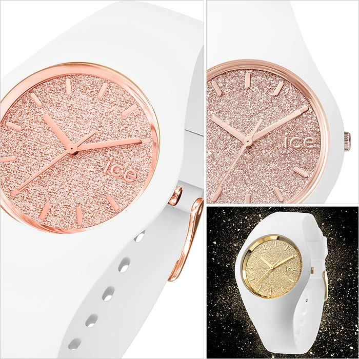 ICEWATCH腕時計 [アイスウォッチ時計] ICE WATCH 腕時計 アイス ウォッチ 時計 グリッタースモール (GLITTERSmall)[ギフト バーゲン プレゼント ご褒美][おしゃれ 腕時計]