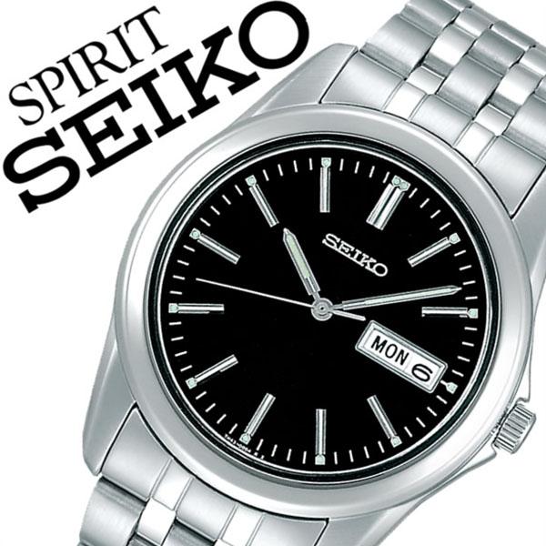 【5年保証対象】セイコー腕時計 SEIKO時計 SEIKO 腕時計 セイコー 時計 スピリット SPIRIT メンズ ブラック SCXC013 メタル ベルト 正規品 限定 シルバー シンプル 父の日 ギフト