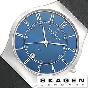 スカーゲン 腕時計[SKAGEN 時計]スカーゲン 時計[SKAGEN 腕時計]スカーゲン時計 SKAGEN時計 メンズ レディース 233XXLSLN[人気 北欧 ブランド 薄型 ビジネス シンプル メタル ベルト 生活 防水 軽量][バーゲン プレゼント ギフト][おしゃれ 腕時計]