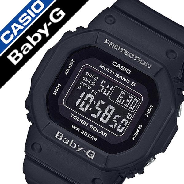 【5年保証対象】カシオ腕時計 CASIO時計 CASIO 腕時計 カシオ 時計 ベビーG Baby-G レディース ブラック BGD-5000MD-1JF デジタル 正規品 防水 液晶 タフ ソーラー 電波 時計 ストップ ウォッチ オールブラック ベイビーG 送料無料