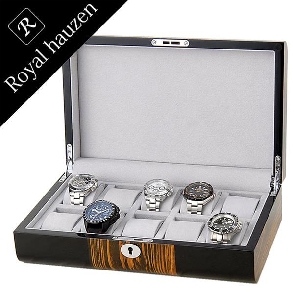 コレクションケース[Collection case 腕時計 時計]コレクションボックス[Collection Box]コレクション GC02-LG2-10 [ディスプレイ ウォッチケース 時計ケース 腕時計ケース 収納ケース 10本収納 ブランド 高級][バーゲン プレゼント ギフト][おしゃれ 腕時計]