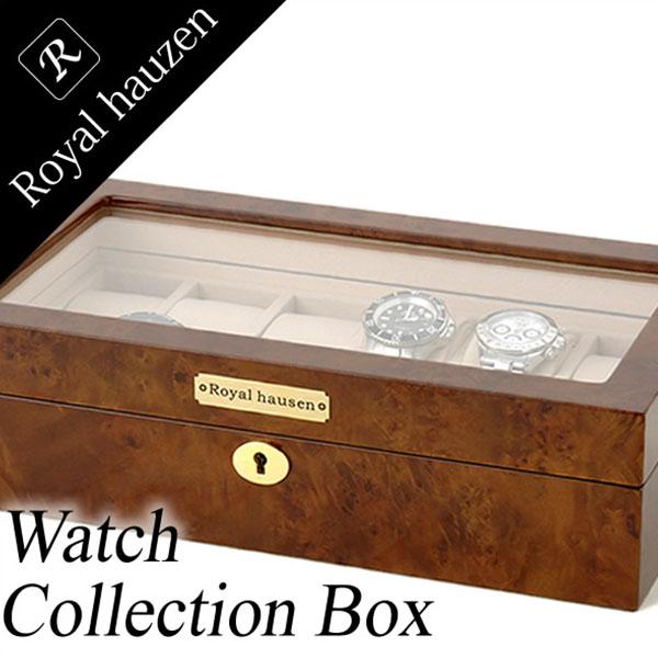 コレクションケース Collection case 腕時計 時計 コレクションボックス Collection Box コレクション メンズ レディース GC02-LG3-12 ディスプレイ ウォッチケース 時計ケース 腕時計ケース 収納ケース 12本収納 ブランド 高級 送料無料