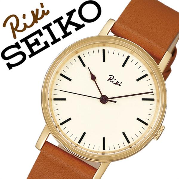 セイコーアルバ腕時計 SEIKOALBA時計 SEIKO ALBA 腕時計 セイコー アルバ 時計 リキ ワタナベ コレクション RIKI WATANABE COLLECTION レディース ホワイト AKQK430 [メタル ベルト 正規品 クォーツ ブラウン ゴールド ギフト バーゲン プレゼント ご褒美][おしゃれ]