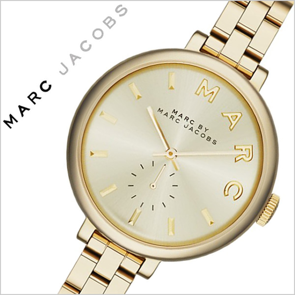 マークバイマークジェイコブス 腕時計[MARCBYMARCJACOBS 時計]マークジェイコブス 時計[MARC BY MARCJACOBS 腕時計]マークバイ マーク ジェイコブス 時計 サリー SALLY レディース ゴールド MBM3363 [新作 人気 ブランド 防水 メタル ベルト]