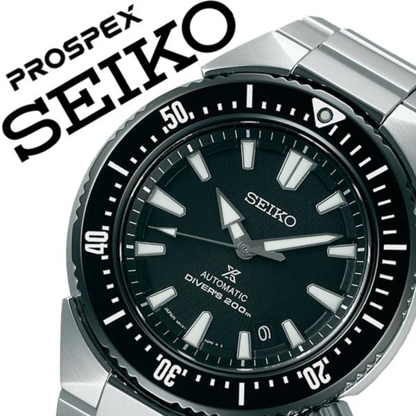 セイコー腕時計 SEIKO時計 SEIKO 腕時計 セイコー 時計 プロスペックス PROSPEX メンズ ブラック SBDC039 [機械式 メカニカル 自動巻 メタル ベルト 正規品 防水 ダイバー トランス オーシャン][バーゲン プレゼント ギフト][おしゃれ 腕時計]