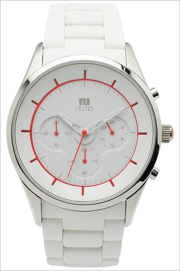 ヌーティッド 腕時計[NUTID 時計]ヌーティッド 時計[NUTID 腕時計]クレーター CRATER メンズ ホワイト 1404P-C [正規品 デザイナーズウォッチ ファッション デザイン 人気 新作 流行 ブランド 防水 シリコン ラバー ステンレス レッド バーゲン プレゼント][おしゃれ]