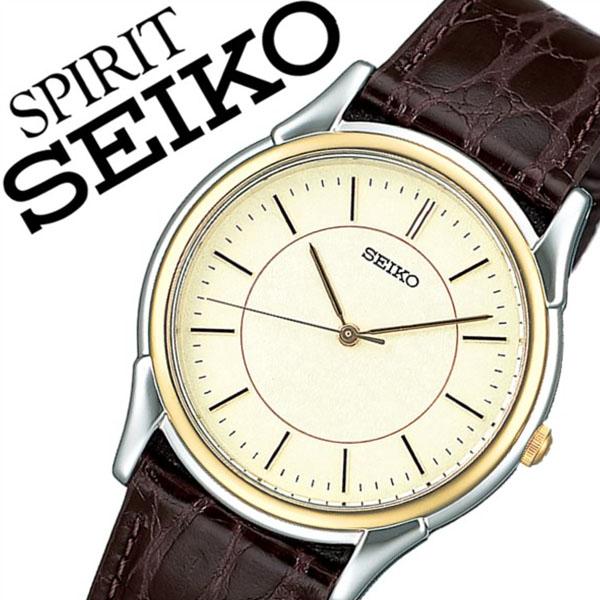 【5年保証対象】セイコー腕時計 SEIKO時計 SEIKO 腕時計 セイコー 時計 スピリット SPIRIT メンズ ゴールド SBTB006 革 ベルト 正規品 防水 ブラウン シルバー ゴールド プレゼント 父の日 ギフト