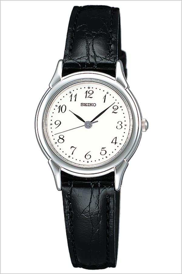 セイコー腕時計 SEIKO時計 SEIKO 腕時計 セイコー 時計 スピリット SPIRIT レディース ホワイト STTC005 [革 ベルト 正規品 防水 ブラック シルバー ギフト バーゲン プレゼント ご褒美][おしゃれ 腕時計]
