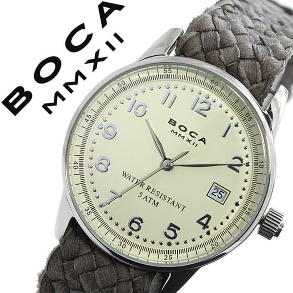 ボカ腕時計 BOCAMMX時計 BOCA MMX 腕時計 ボカ 時計 トラベラー TRAVELER メンズ レディース ユニセックス 男女兼用 ホワイト [革 ベルト カーフ 正規品 ベージュ シルバー グレー][バーゲン プレゼント ギフト][おしゃれ 腕時計]