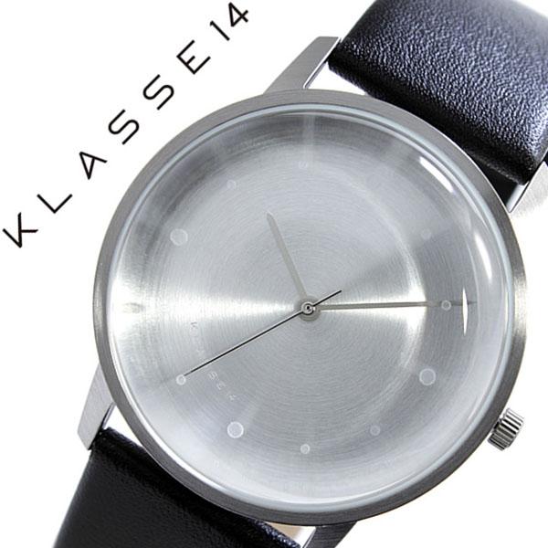 クラス14 腕時計 KLASSE14 時計 クラス フォーティーン 時計 KLASSE 14 腕時計 FOTD DAN TOMIMATSU メンズ レディース シルバー FO14SR001M 革 ベルト レザー クラッセ ダン・トミマツ ブラック CLASS 北欧 人気 ブランド シンプル インスタグラム instagram 送料無料