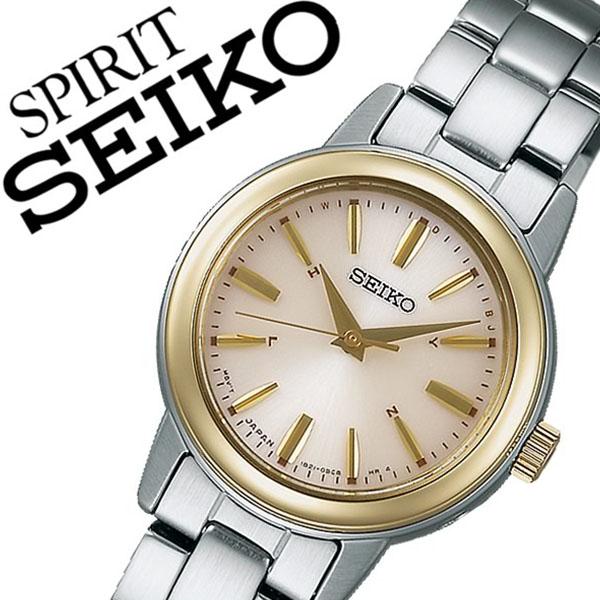 【5年保証対象】セイコー腕時計 SEIKO時計 SEIKO 腕時計 セイコー 時計 スピリット スマート SPIRIT SMART レディース ゴールド SSDY020 人気 新作 ブランド トレンド メタル ベルト シンプル かわいい シルバー 送料無料