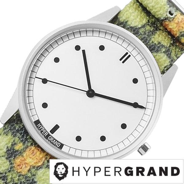 ハイパーグランド 腕時計 HYPERGRAND 時計 ハイパー グランド 時計 HYPER GRAND 腕時計 ハイパーグラウンド ゼロワン ナトー 01NATO レディース ホワイト NW01GASK 人気 新作 ブランド ナイロン ベルト かわいい グリーン シンプル デザイナーズ ウォッチ 送料無料